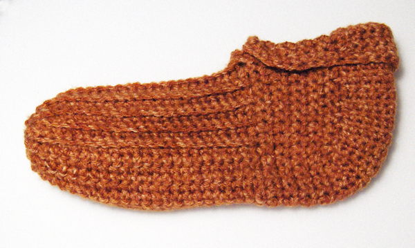 Completed slipper