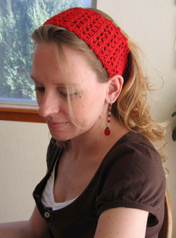 Red Hot Headband