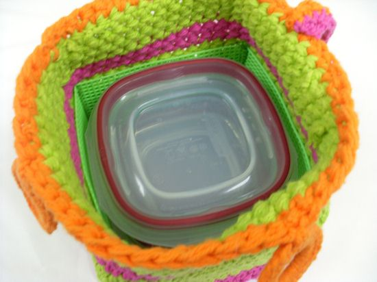 Insert shown inside caddy