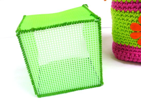 Stitch sides and base together