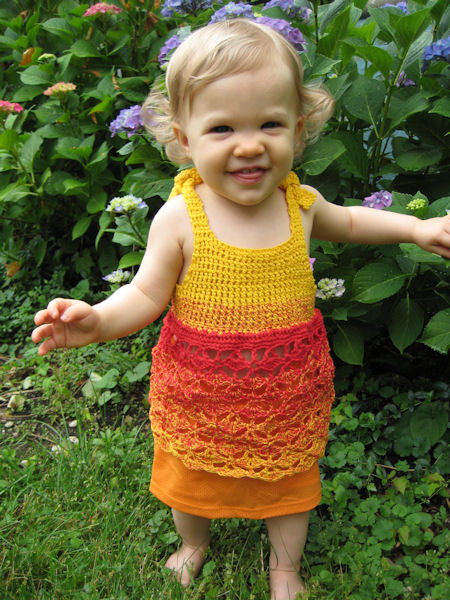 Cutie Pie wearing Mango Sundress
