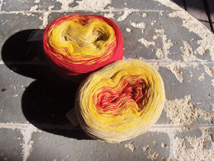 Example of yarn